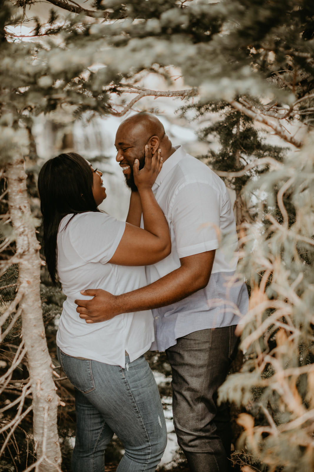 mt. rainier engagement photos